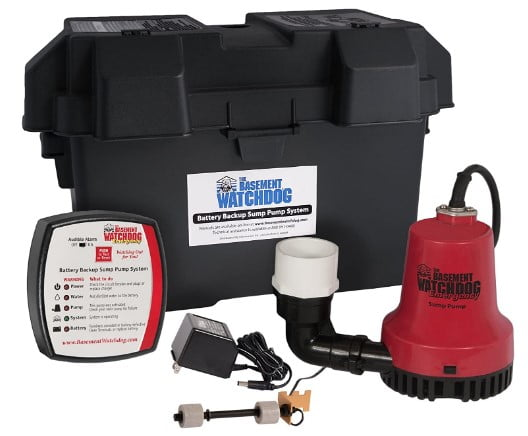 Basement Watchdog BWE 1000 Gallons Per Hour Basement sump pump