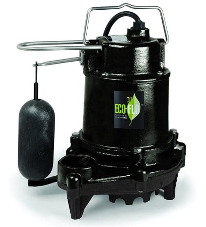 Eco-Flo Products EFSA50 5100 Sump Pump