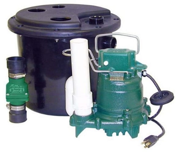 Zoeller 105-0001 Sump Pump-Best Zoeller Pump