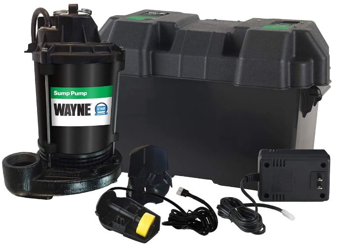Wayne ESP25 Upgrade 12-Volt Battery Backup System